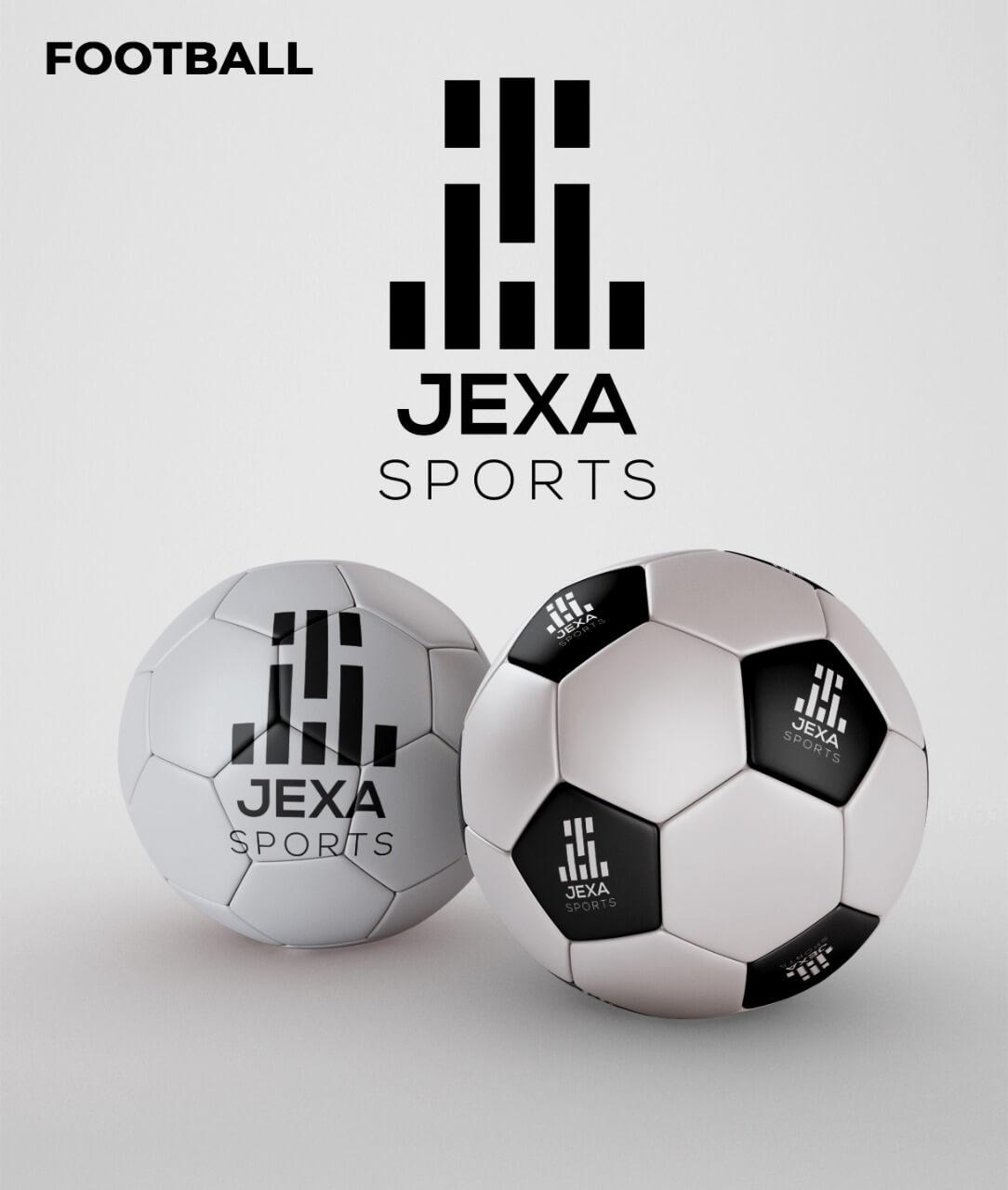 Jexa Sports logo mockup