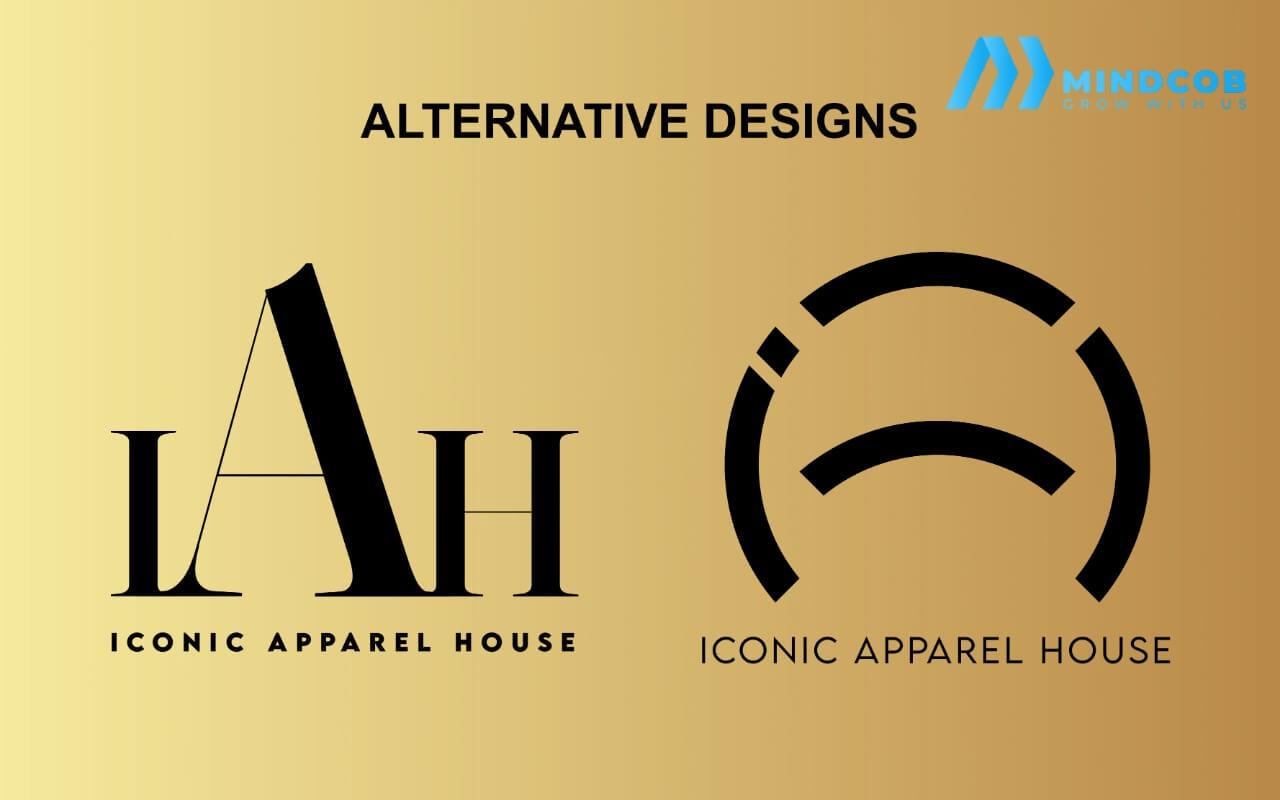 Iconic apparel house logo designs